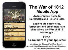 An app for War of 1812 too!