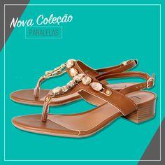Uma coleção feminina e charmosa! @locaporsapato #omelhorpresente #diadasmaes #vidascomestilo #modaporprecojusto #sandalia #shoes #paralelas