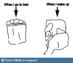 Every time I wake up