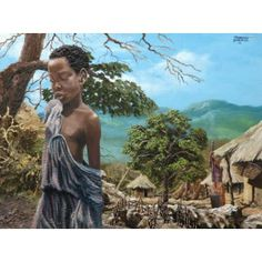 Amazing #Zambian #Art that reflects the best picture of #African culture.