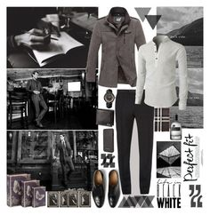 """""""Life in ..."""" by mariettamyan ❤ liked on Polyvore featuring Church's, Alexander McQueen, Cartier, Burberry, Ted Baker, Bottega Veneta, men's fashion and menswear"""