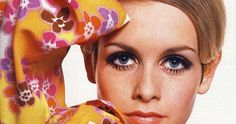 Twiggy is best remembered as a fashion icon of the 1960's. The emphasis of the glamorous mod makeup is on the eyes, with de...