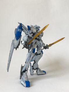 Gundam Bael, Blood Orphans, Frame Arms, Diorama, Robot, Sci Fi, Iron, Studio, Anime