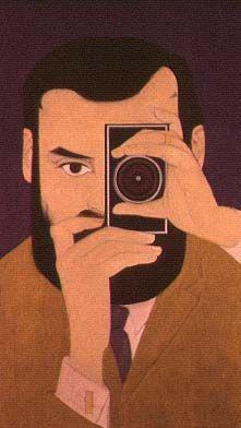 Portrait of Djordje Milicevic (1967) by Will Barnet