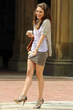 """Mila Kunis On Set Of """"Friends With Benefits"""""""