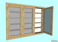 Need extra space in your bathroom, build a recessed medicine cabinet with these free plans. Im thinking larger scale in garage.