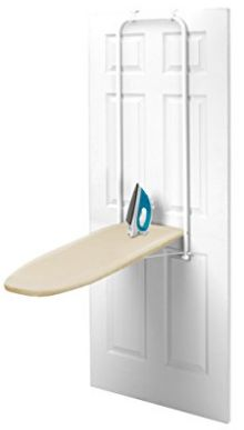 Ready Press Over-The-Door Ironing Board Ironing Boards, Iron Board, Cabinet, Storage, Top, Furniture, Design, Home Decor, Clothes Stand