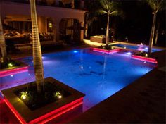 CineLighting™Waterproof/Underwater  LED Lighting Strips. Our multi-color RGB LED lighting is perfect for outdoor and underwater settings, such as decks, patios, pools and fountains.