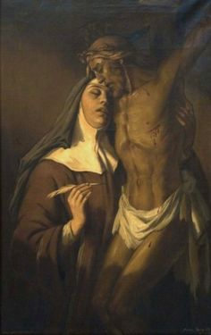 - St Teresa of Avila in ectasy by Daniel Sabater
