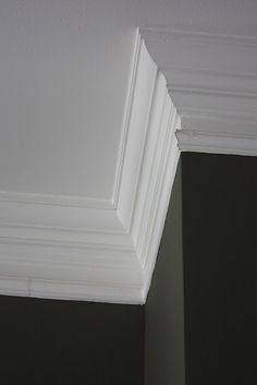 Luxury crown molding how to :)