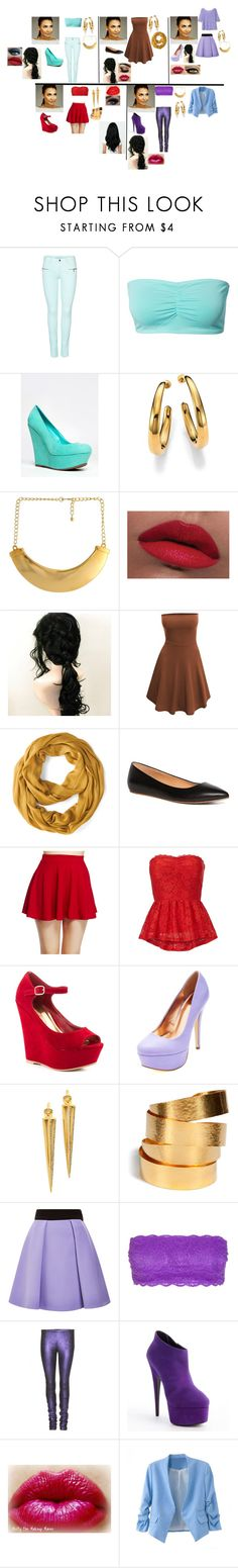 """Glee:Disney:Santana is Jasmine"" by glee2shake ❤ liked on Polyvore featuring ONLY, Breckelle's, Michael Kors, Kenneth Jay Lane, LORAC, Doublju, Brooks Brothers, Sanders, Wet Seal and Promise Shoes"