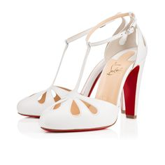 Amyada Louboutins: I love these 30s inspired t strap heels! Adorable, flirty, and fun! I like the tear drop cutouts on the vamp!