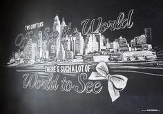 Rozzie Calgary Chalk Artist: Breakfast at Tiffany's, New York ...