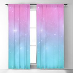 Bedroom Decor For Teen Girls, Room Ideas Bedroom, Bedroom Themes, Bedroom Sets, Galaxy Bedroom Ideas, Girl Curtains, Drapes Curtains, Blackout Curtains, Game Room Design
