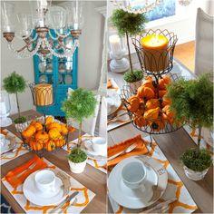 automne de dernière minute en 25 idées inspirantes table automne ...