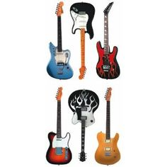 Guitar Cabinet Drawer Knobs Pulls Music Theme Hardware By