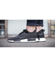 Adidas Nmd R1 Wool Primeknit Black trainers for cheap