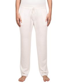 Kaschmir Trainerhose weiss front Trainer, Pajama Pants, Pajamas, Sweatpants, Fashion, Cashmere, Trousers, Pjs, Moda
