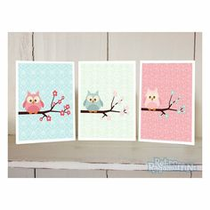 """The Delectable Home:   owl nursery prints - and free """"owl always love you"""" printable"""
