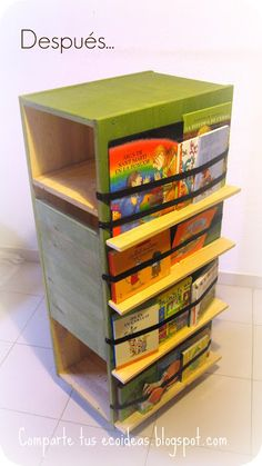 Comparte tus Ecoideas: Transformando muebles