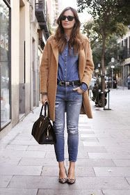 I want pretty: LOOK- Outfits para invierno.