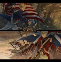 Axis Powers: Hetalia, American Revolutionary War