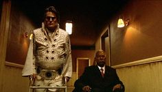 Day 14 - An Indie Horror Movie: BUBBA HO-TEP, 2002. Bruce Campbell plays an elderly Elvis Presley who switched places in the 1970s with an Elvis impersonator to escape fame. Now he's wasting away in a rest home with fellow resident John F. Kennedy (now an old black man), and they battle an ancient Egyptian mummy who's come to Texas to steal souls. Unique, comical, and weird. Ya just gotta see it.