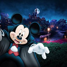 Halloween-One of my favorite Mickey characters. VAMPIRE MICKEY