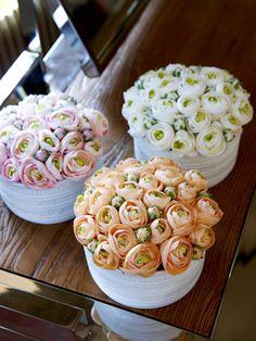 #SIA Home Fashion - #Ranunculus in Porcelain<> #Gread Idea..