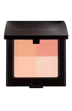 Daily Routine: Laura Mercier Illuminating Powder Quad available at #Nordstrom Amazing blush quad. I've been using it for years. I do a quick swirl of all four colors and then swipe across my cheek bones. I feel like this would look good on every skin type.