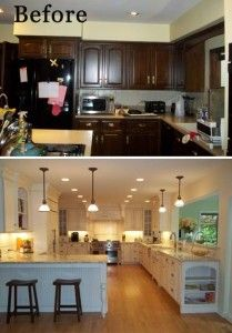 Kitchen Remodelling Concept Open Concept Townhome Kitchen Remodel Creatednormandy Designer .