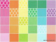 Happy Tones Charm Pack - Michael Miller Fabrics - Michael Miller