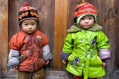Miao Village Children, China (by Steven House)