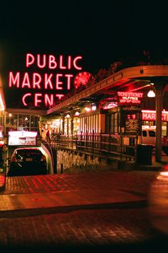 Pike Place Market. Seattle, Washington. - One of my favorite places in the world. So cool! - #treasuredtravel