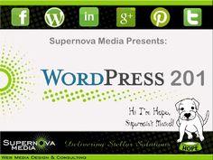 Wordpress 201 by Supernova Media,