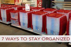 7 Ways to Stay Organized All Year Long   lifeyourway.net