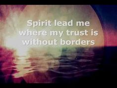 """Oceans (Where Feet May Fail) by Hillsong United """"...I will call upon Your name / And keep my eyes above the waves / When oceans rise / My soul will rest in Your embrace / For I am Yours, and You are mine."""""""