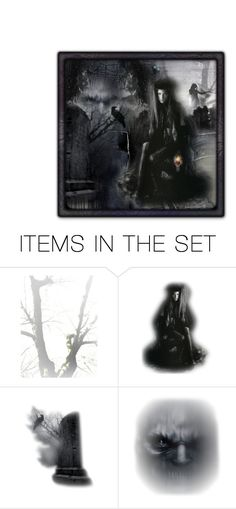 """Graveyard"" by gailwind ❤ liked on Polyvore featuring art"