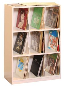 Gothic Cabinet Craft - LP Record Rack, 3 Shelf w/ Base, $179.00 (http://www.gothiccabinetcraft.com/lp-record-rack-3-shelf-w-base/)