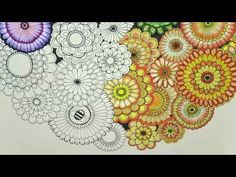 Hi Guys In This Video I Will Be Coloring Rainbow Flowers From Secret Garden Book By Using Prismacolor Premier Colored Woodcase Pencils