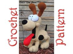 Odie a Crochet Pattern by Erin Scull