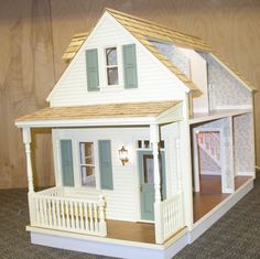 Litchfield Milled Dollhouse Kit . Perfect base for making a Martha's Vinyard gingerbread house