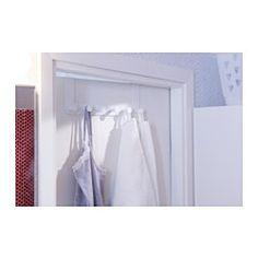 ENUDDEN Hanger for door, white - white - IKEA