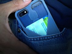 ENVO - An iPhone case with a back pocket for your pocket. Secure your cards & cash to your iPhone while you secure your iPhone to your pocket.