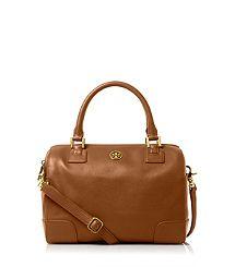 Tory Burch ROBINSON MIDDY SATCHEL, love this bag!