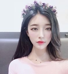 Korean Beauty Girls, Pretty Korean Girls, Cute Korean Girl, Asian Beauty, Asian Girl, Ulzzang Hair, Ulzzang Korean Girl, Yoon Ara, Korean Image