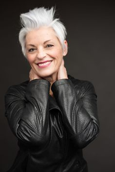 Older woman headshot - Purple Moss Photography
