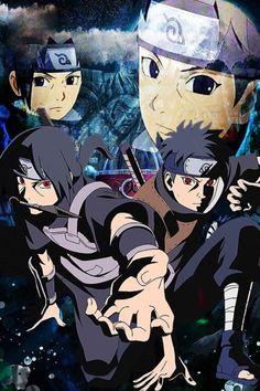 Shisui e Itachi ❤❤ Anime Naruto, Naruto Vs Sasuke, Manga Anime, Naruto Art, Naruto Shippuden Anime, Itachi Uchiha, Naruto And Sasuke Wallpaper, Wallpaper Naruto Shippuden, Naruto Drawings