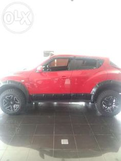 Nissan Juke AT 2011 offroad look