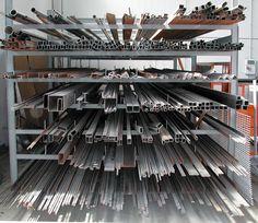 Steel Bar And Stock Storage Rack Metal Workshop Steel